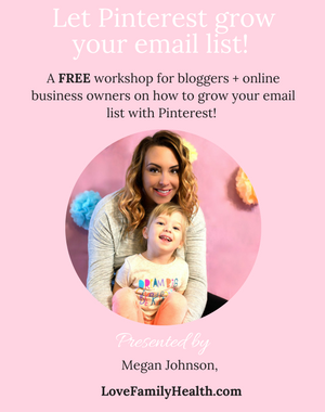 Let Pinterest grow your email list!