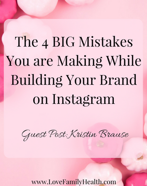 The 4 BIG Mistakes You are Making While Building Your Brand on Instagram