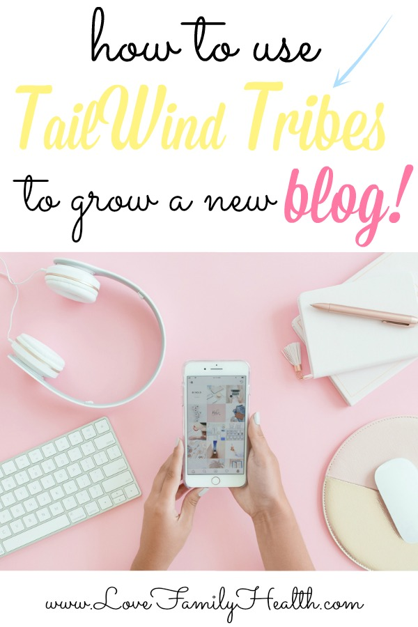 How to use TailWind Tribes to grow a new blog! Guest Post: Saranya