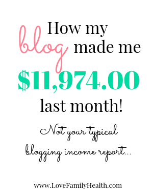 How my blog made me $11,974 last month.